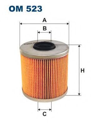 Масляный фильтр FILTRON OM523