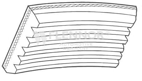 Клиновой ремень FLENNOR 6PK1708