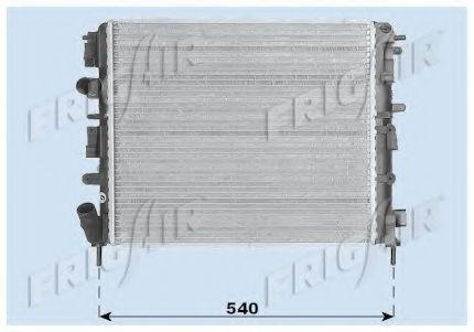 Радиатор охлаждения двигателя FRIGAIR 01093078
