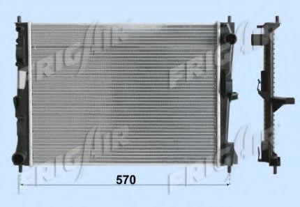Радиатор охлаждения двигателя FRIGAIR 01093099