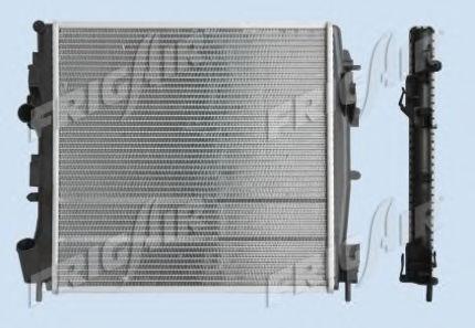 Радиатор охлаждения двигателя FRIGAIR 01093102
