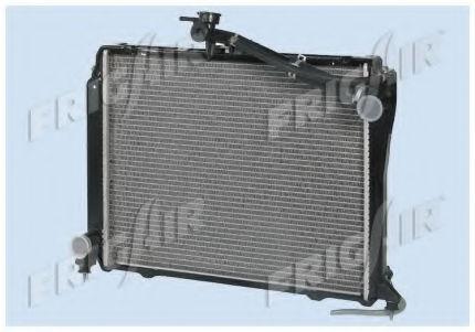 Радиатор охлаждения двигателя FRIGAIR 01153002