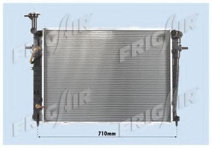 Радиатор охлаждения двигателя FRIGAIR 01283085