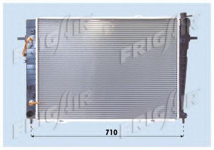 Радиатор охлаждения двигателя FRIGAIR 01283086