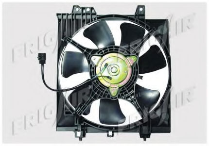 Вентилятор радиатора кондиционера FRIGAIR 05241009