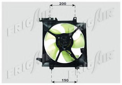 Вентилятор радиатора кондиционера FRIGAIR 05241010