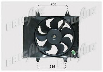 Вентилятор охлаждения двигателя FRIGAIR 05332001