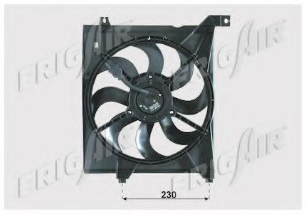 Вентилятор охлаждения двигателя FRIGAIR 05332002