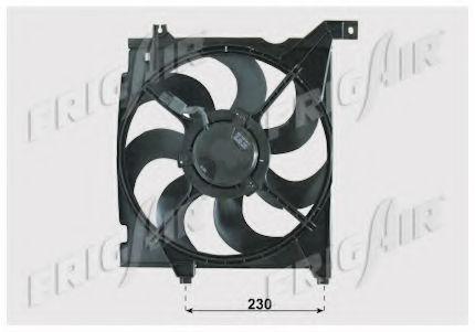 Вентилятор охлаждения двигателя FRIGAIR 05332003