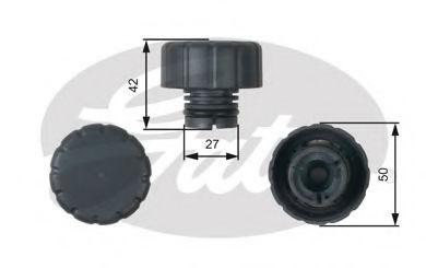 Крышка расширительного бачка GATES RC244