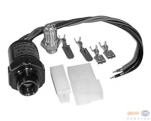 Пневматический клапан кондиционера HELLA 6ZL351028801