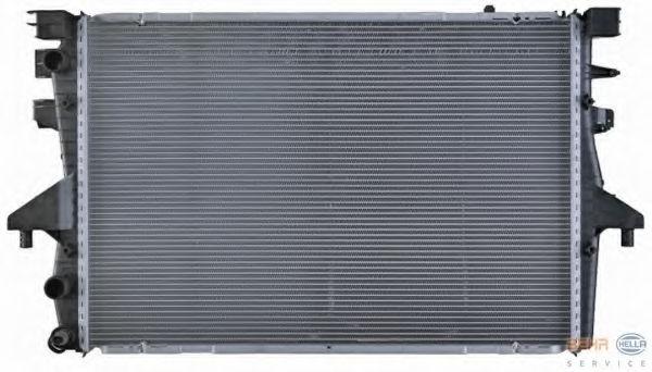 Радиатор охлаждения двигателя HELLA 8MK376719181