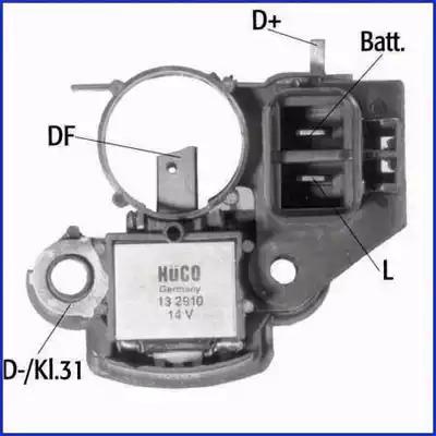 Реле регулятора генератора HITACHI 132910