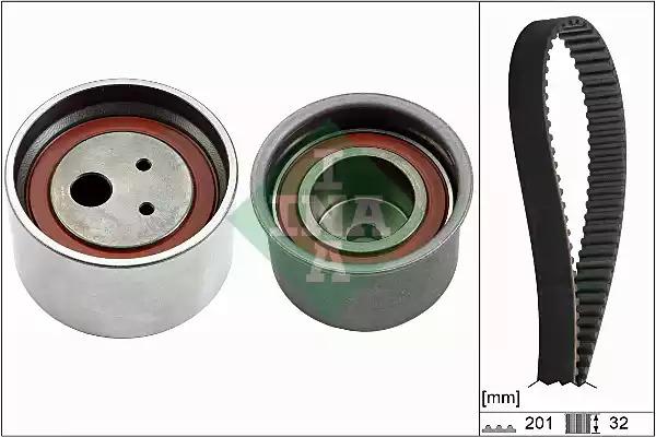 Комплект ГРМ INA 530062910