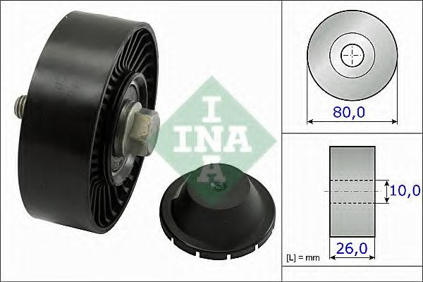 Ролик ремня генератора INA 532051210