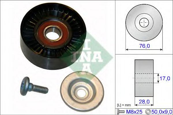 Обводной ролик ремня ГРМ INA 532064810