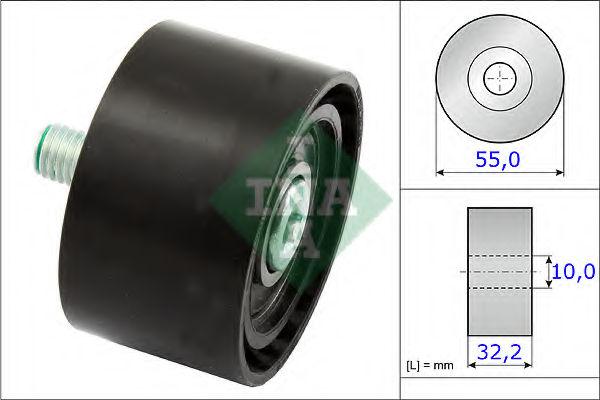 Ролик ремня генератора INA 532065910