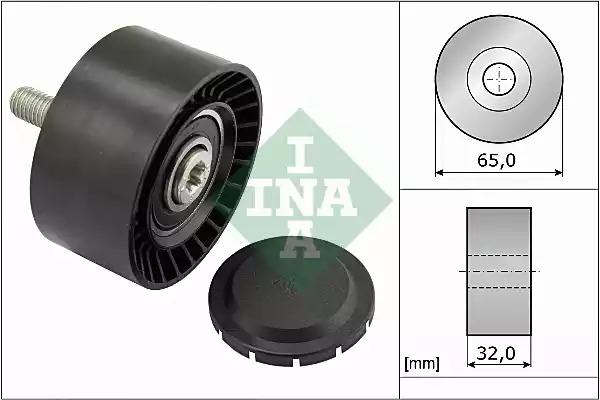 Ролик ремня генератора INA 532066010