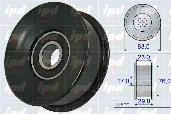 Обводной ролик ремня ГРМ IPD 153899