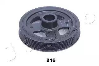 Шкив коленвала JAPKO 122216