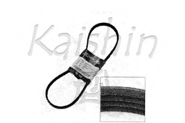 Комплект прокладок блока цилиндров KAISHIN 0K55215909