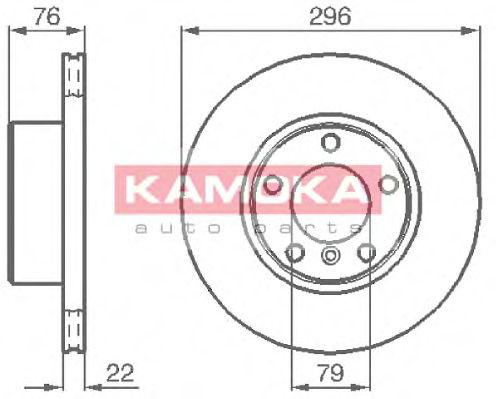 Тормозные диски KAMOKA 1031668