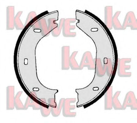 Тормозные колодки барабанные KAWE 00010