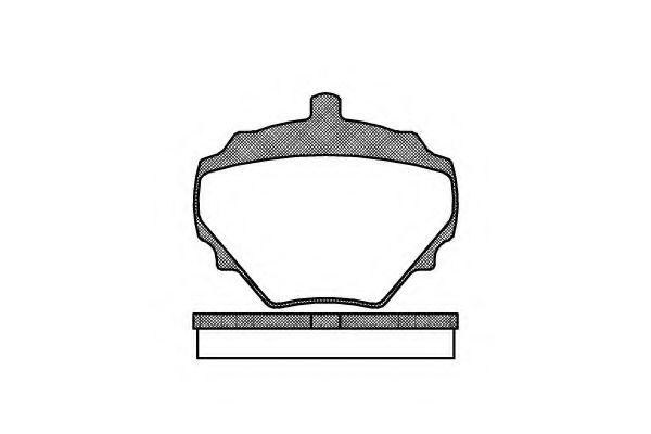 Тормозные колодки KAWE 005210
