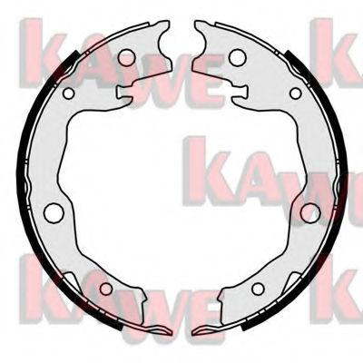 Тормозные колодки барабанные KAWE 01034