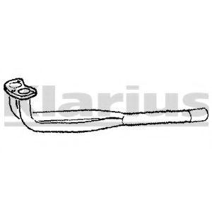 Приемная труба глушителя KLARIUS 110098