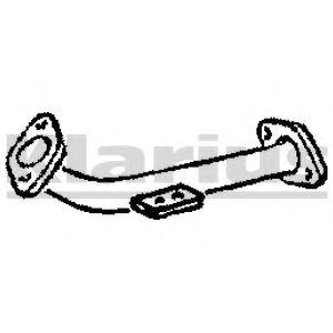 Приемная труба глушителя KLARIUS 110163