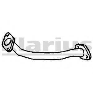 Приемная труба глушителя KLARIUS 110489