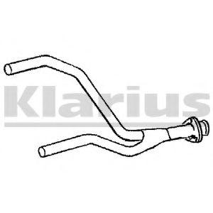 Приемная труба глушителя KLARIUS 130080