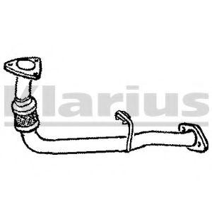 Приемная труба глушителя KLARIUS 142707