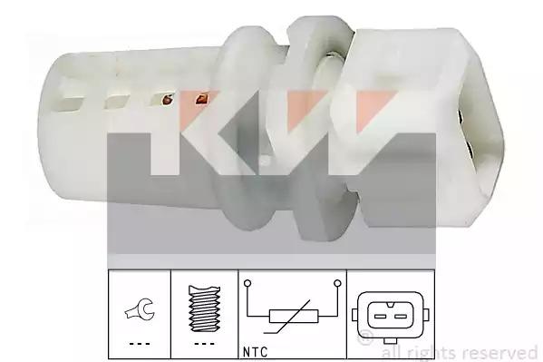 Датчик температуры впускаемого воздуха KW 494009