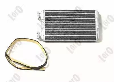 Радиатор печки LORO 0040150001B