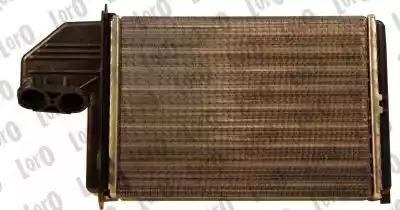 Радиатор печки LORO 0040150013