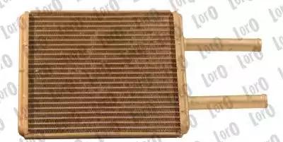 Радиатор печки LORO 0240150004B
