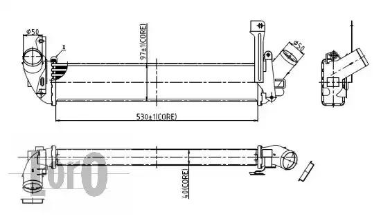 Интеркулер LORO 0350180001