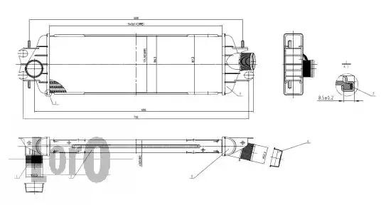 Интеркулер LORO 0350180003