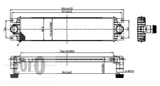 Интеркулер LORO 0370180001