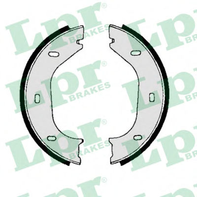 Тормозные колодки барабанные LPR 00010