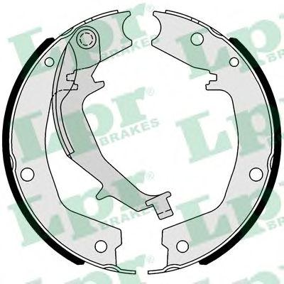 Тормозные колодки барабанные LPR 01053