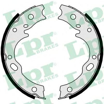 Тормозные колодки барабанные LPR 01127