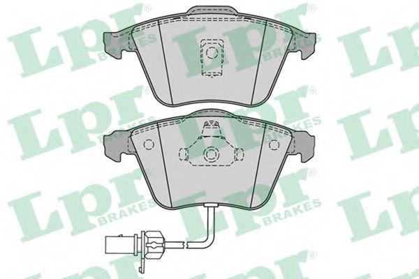 Тормозные колодки LPR 05P1230