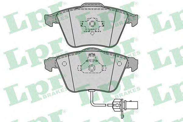 Тормозные колодки LPR 05P1239