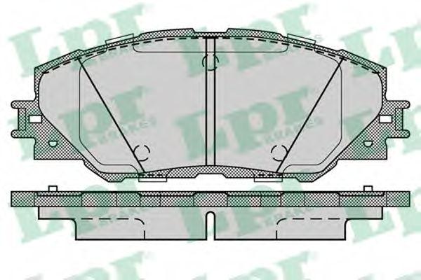 Тормозные колодки LPR 05P1282