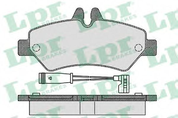 Тормозные колодки LPR 05P1293