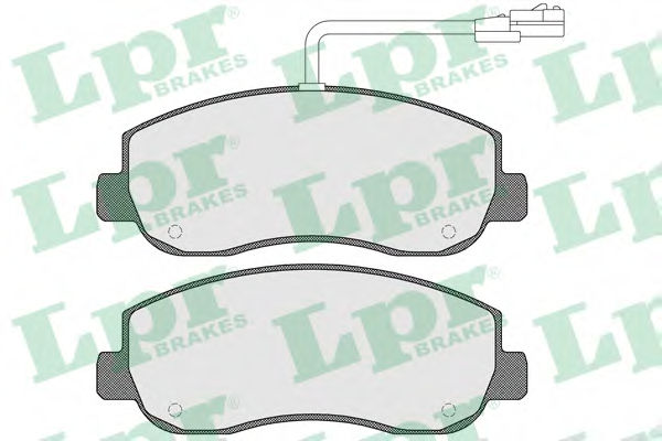 Тормозные колодки LPR 05P1579