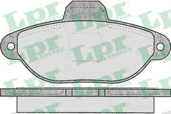Тормозные колодки LPR 05P464
